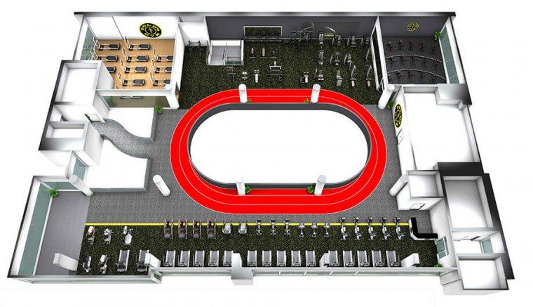Největší Gold´s Gym nasvětě má 6 pater plně vybavených zařízením Escape Fitness_03.jpg