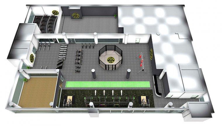Největší Gold´s Gym nasvětě má 6 pater plně vybavených zařízením Escape Fitness_04.jpg