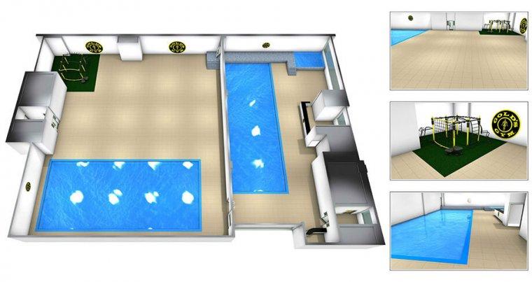 Největší Gold´s Gym nasvětě má 6 pater plně vybavených zařízením Escape Fitness_05.jpg