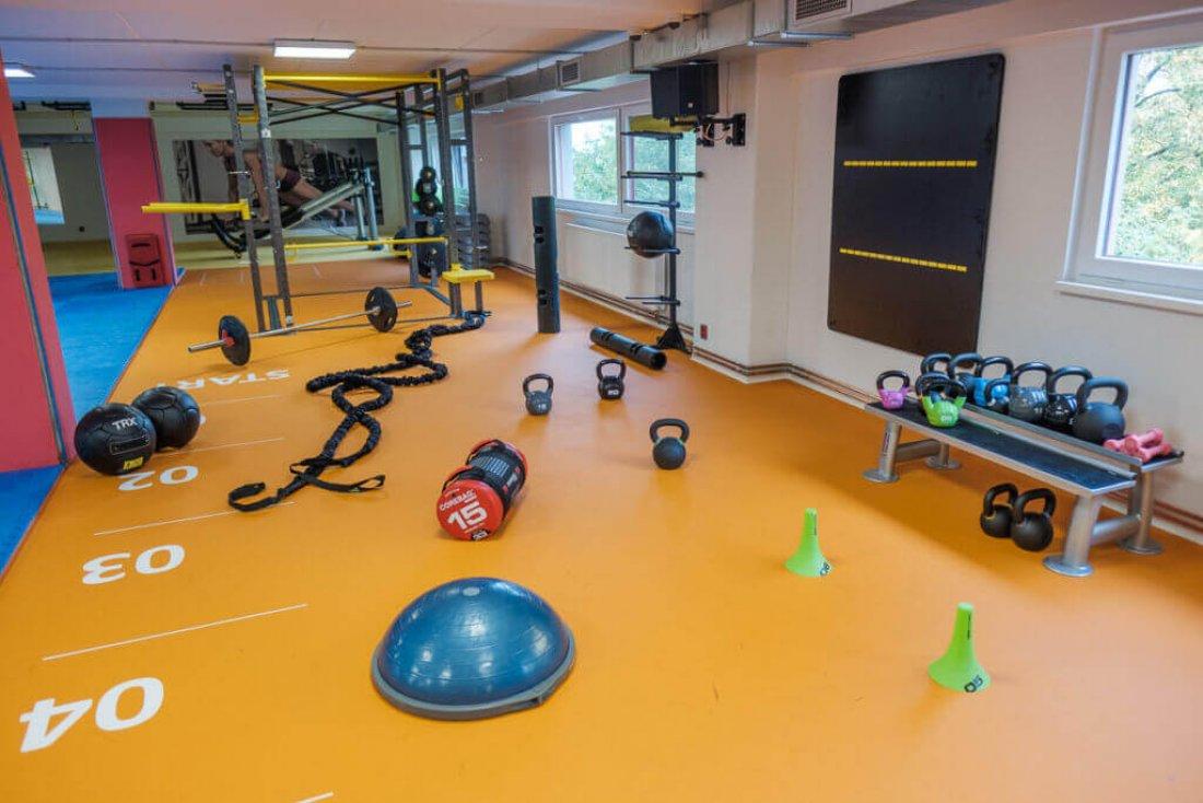 Tým 3D FITNESS stojí také zarealizací funkční zóny veFitness Club Evo vPoděbradech.