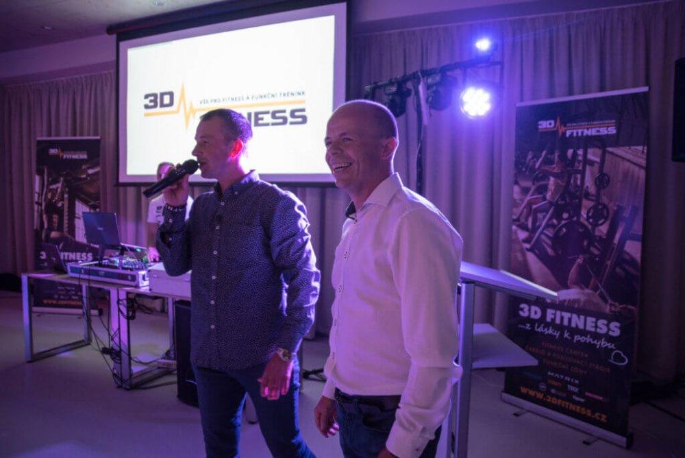 Zahájení kongresu Miroslavem Jirčíkem – pořadatelem akce ajednatelem 3D FITNESS s.r.o.