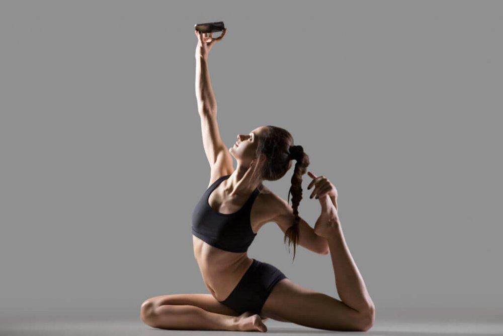 Sdílení selfie při tréninku vám může pomoci shubnoucími cíli.