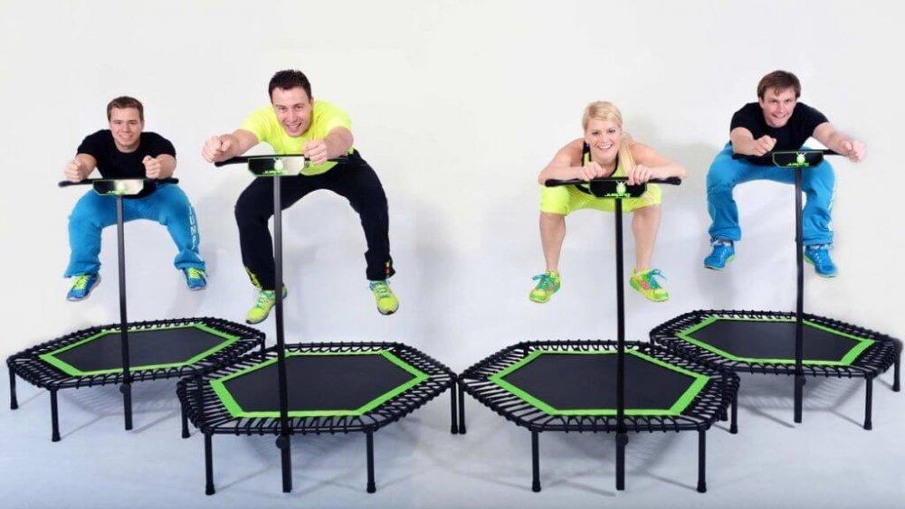 Zatímco kalorie při Jumpingu rychle mizí, endorfiny se vevelkém vyplavují.